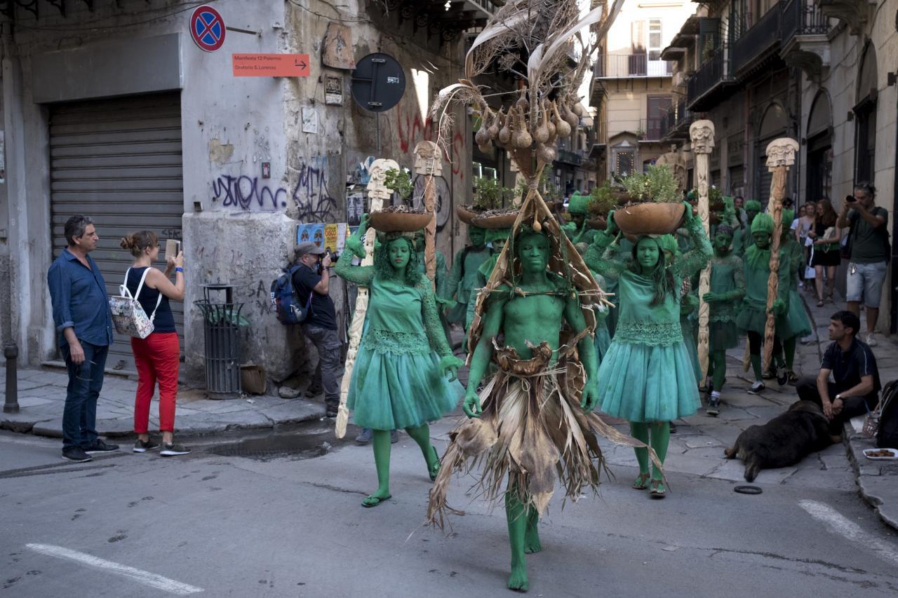Jelili Atiku Festival of the Earth (Alaaragbo XIII) (2018)
