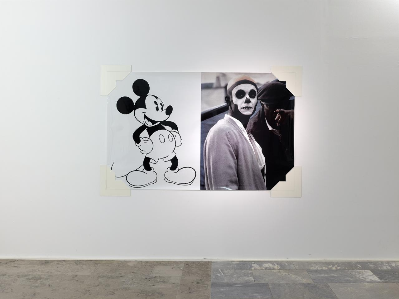 "Arthur Jafa, ""Mickey Mouse was a Scorpio,"", 2016"