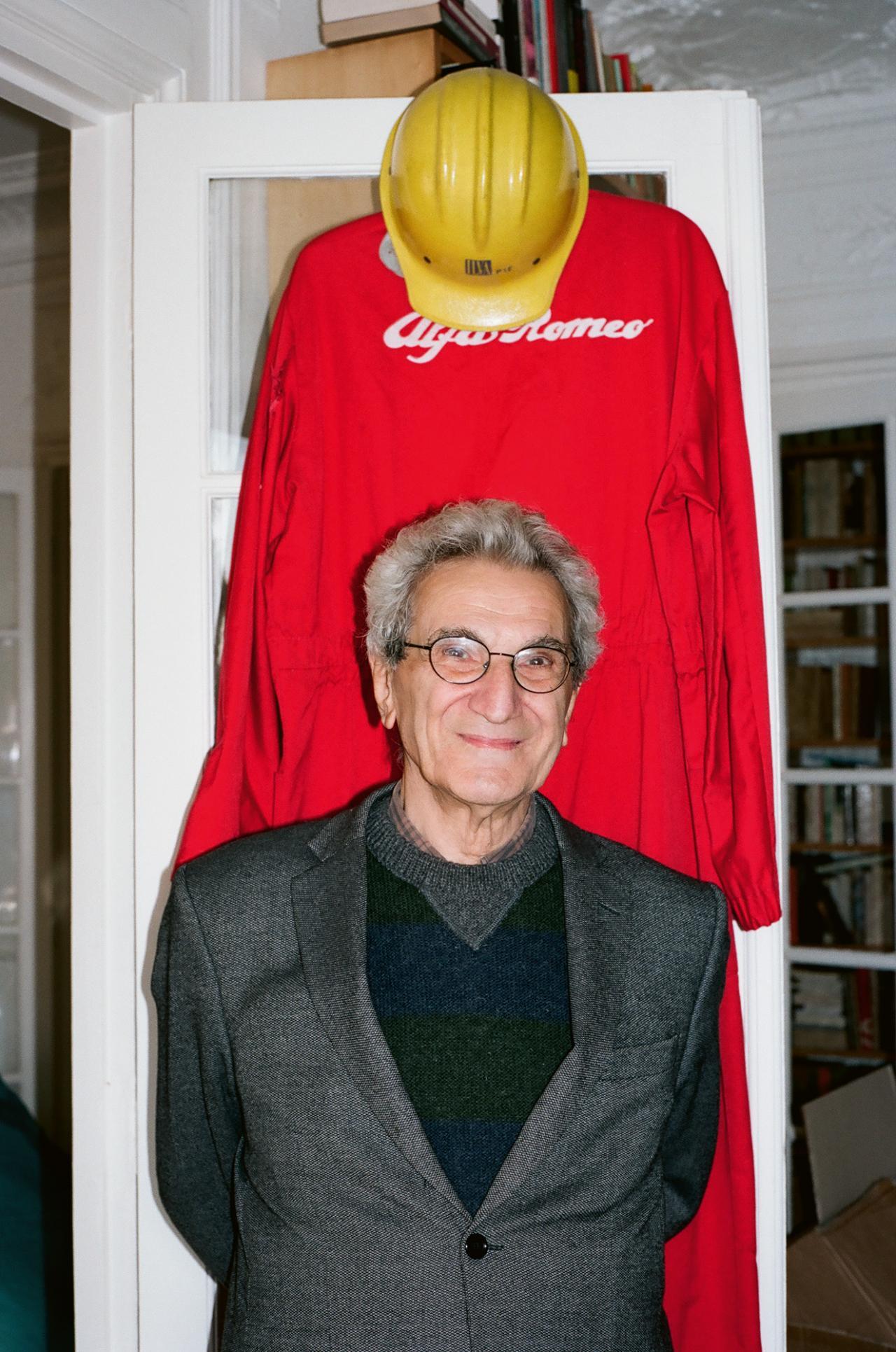 Antonio Negri, Paris, 2013