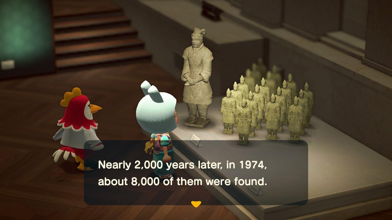 Art Gallery , Screenshots from Animal Crossing; New Horizons