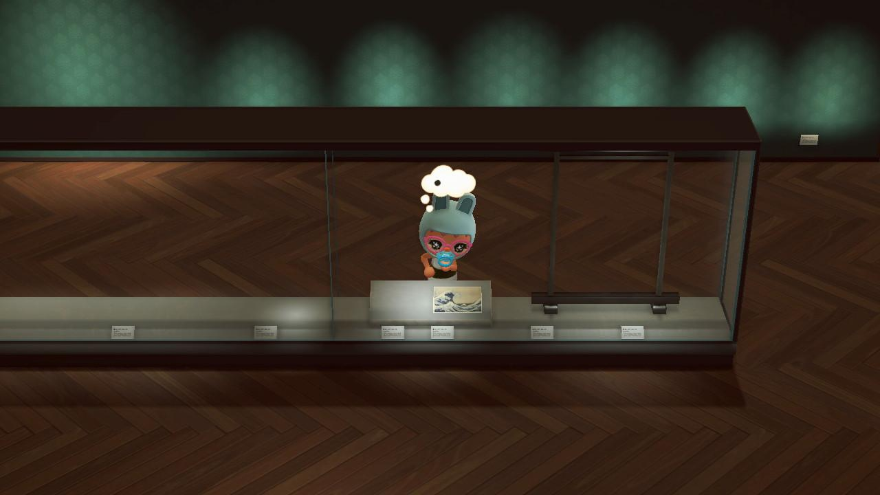 Art Gallery , Screenshot from Animal Crossing; New Horizons