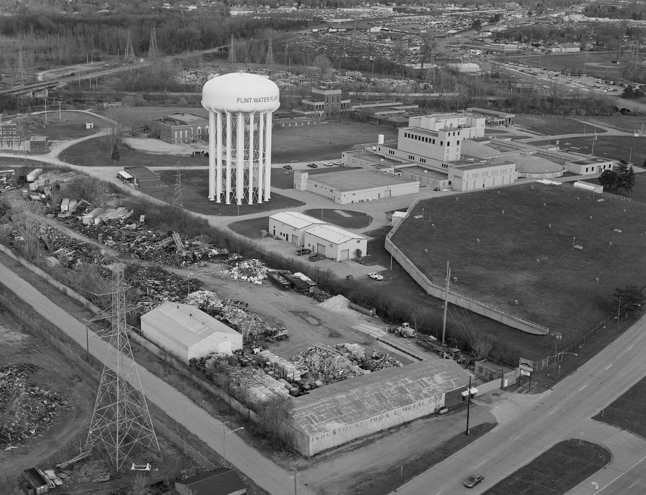 LaToya Ruby Frazier City of Flint Water Plant and the Industrial Iron & Metal Co. (2016/17)