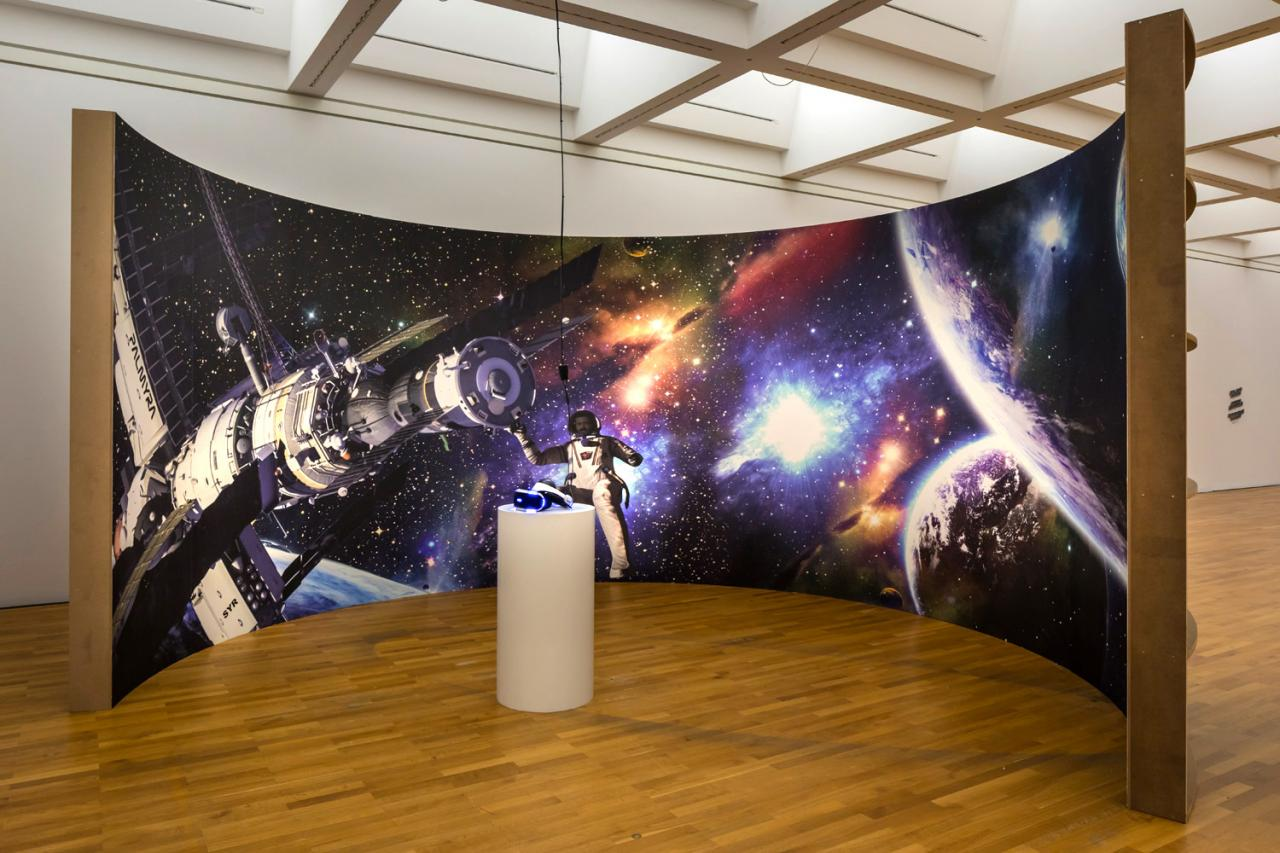 Halil Altindere Journey to Mars  (2016), Installation view Zeppelin Museum Photo: Tretter
