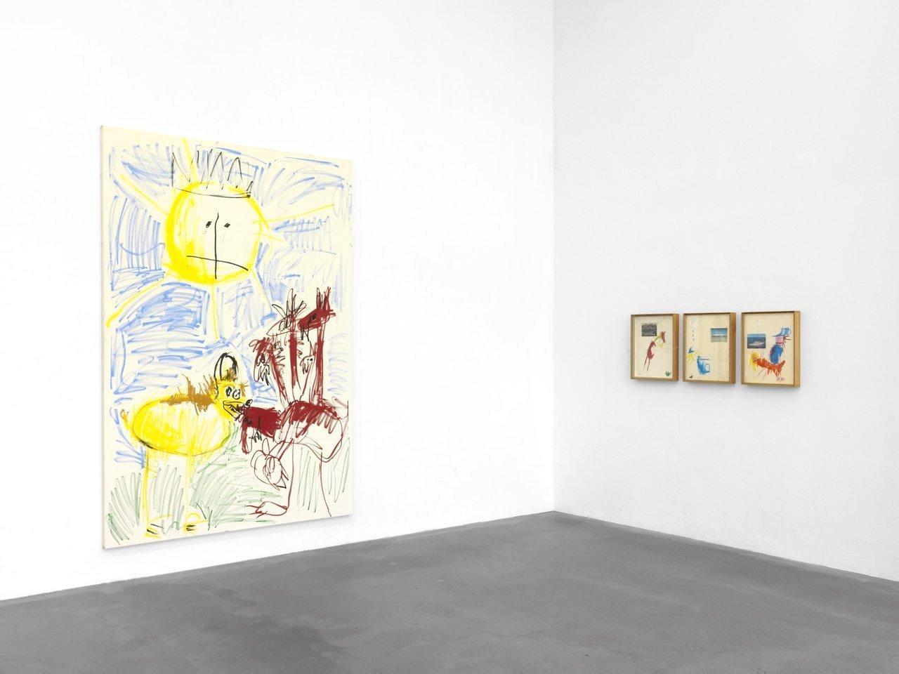 Installation viewof Andi Fischer's works atBerlin Masters 2018, 24 September - 7 October 2018 © Bernd Borchardt