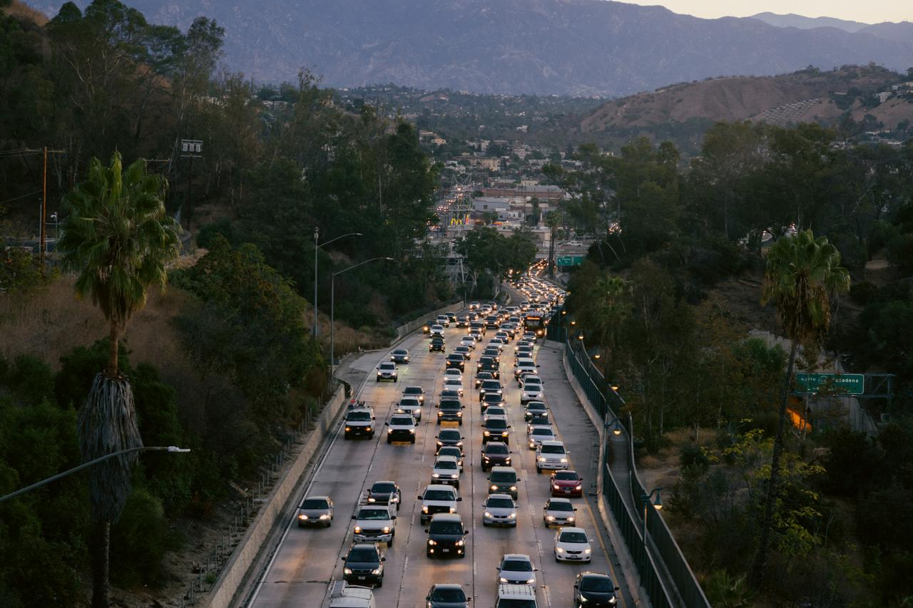 Berufsverkehr, Los Angeles, 2018