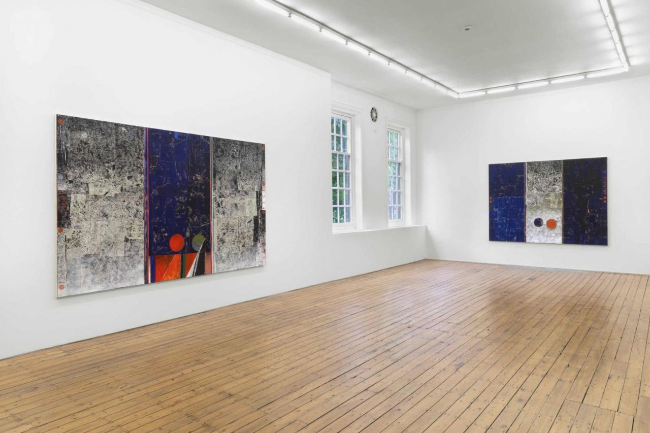 "Sam Windett ""Motorway IV"", installation view at Marinaro Marinaro hostingThe Approach,London"
