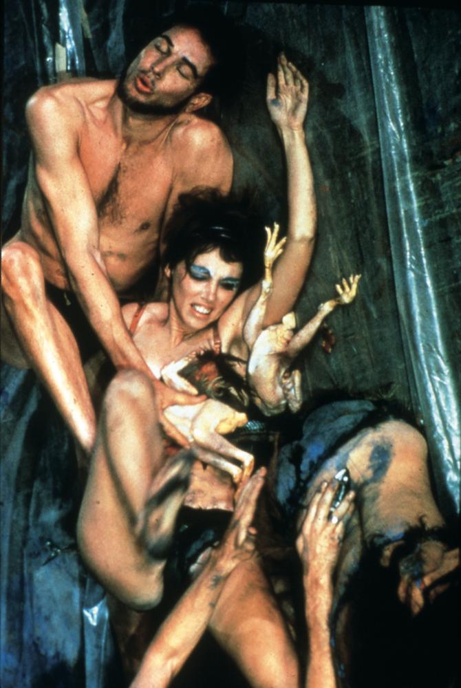 Carolee Schneemann Meat Joy  (1964)