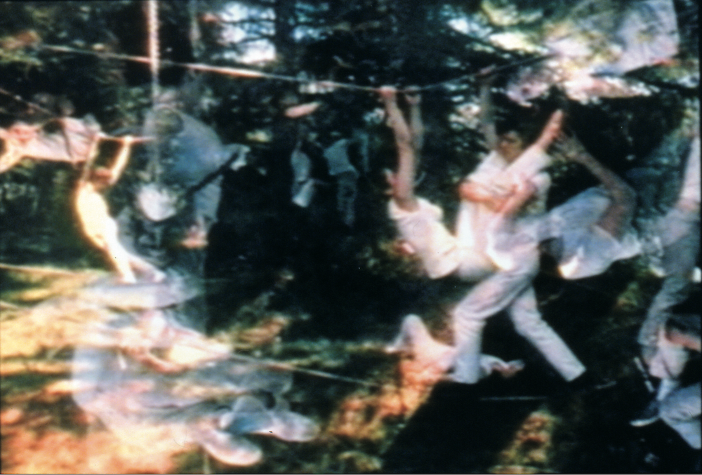 Carolee Schneemann Water Light/Water Needle Lake Mahwah (1966)