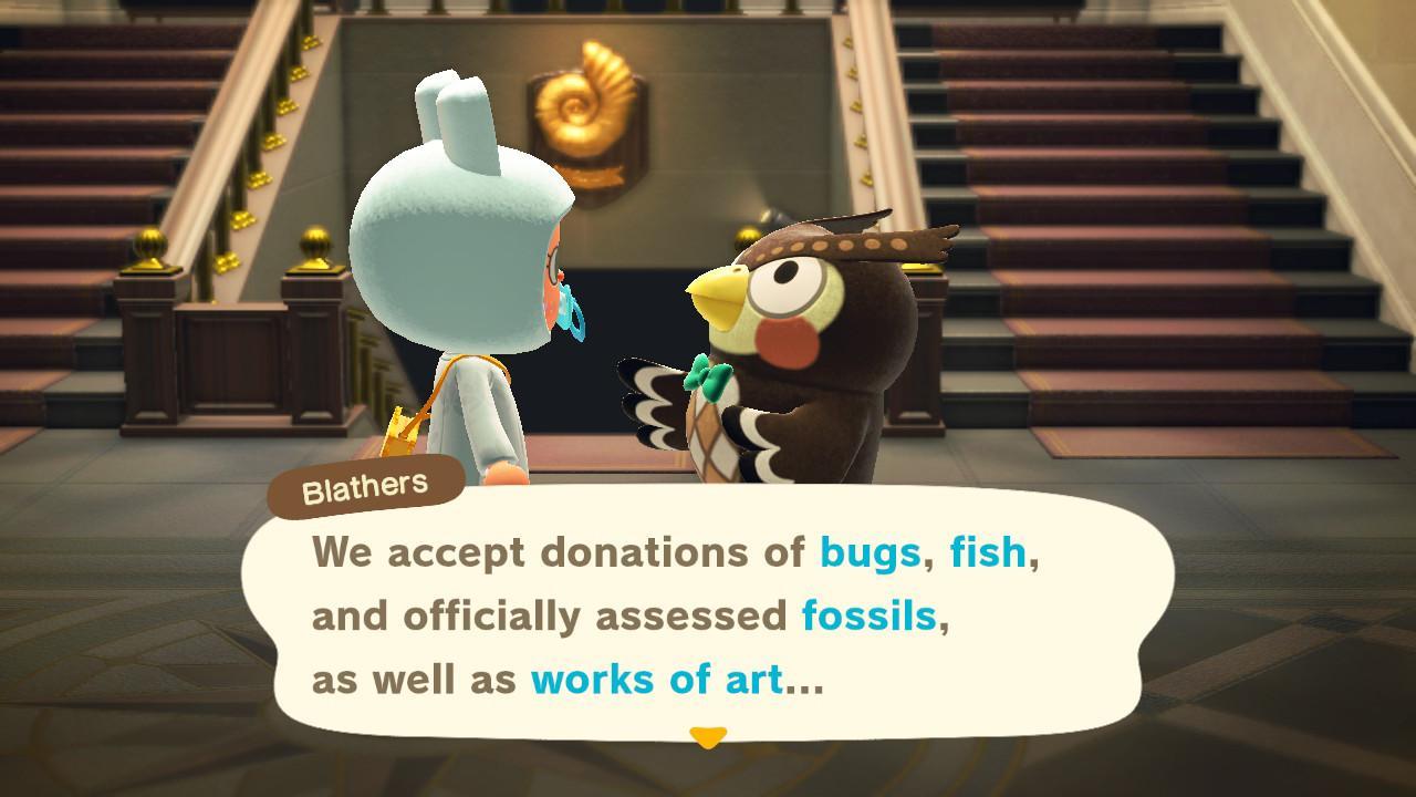 Blathers , Screenshotfrom Animal Crossing; New Horizons