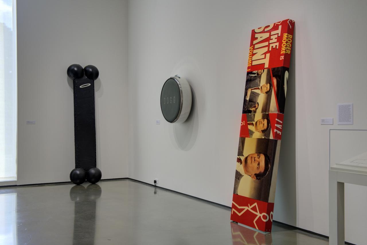 """""""The Conditions of Being Art: Pat Hearn Gallery and American Fine Arts, Co. (1983–2004)"""", Hessel Museum of Art , 2018, Exhibition view"""