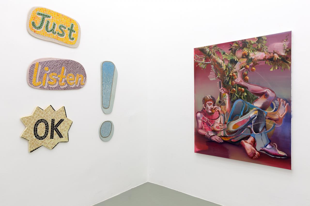 """""""May Not the Soul Be as Balloons"""" at Crone, curated by Poetry Machine at Crone. Photo: Matthias Bildstein. Courtesy Galerie Crone, Wien"""