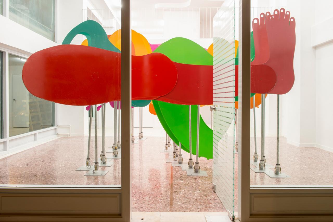 Georgia Sagri Dynamis (2017, installation view) Photo: Angelos Giotopoulos