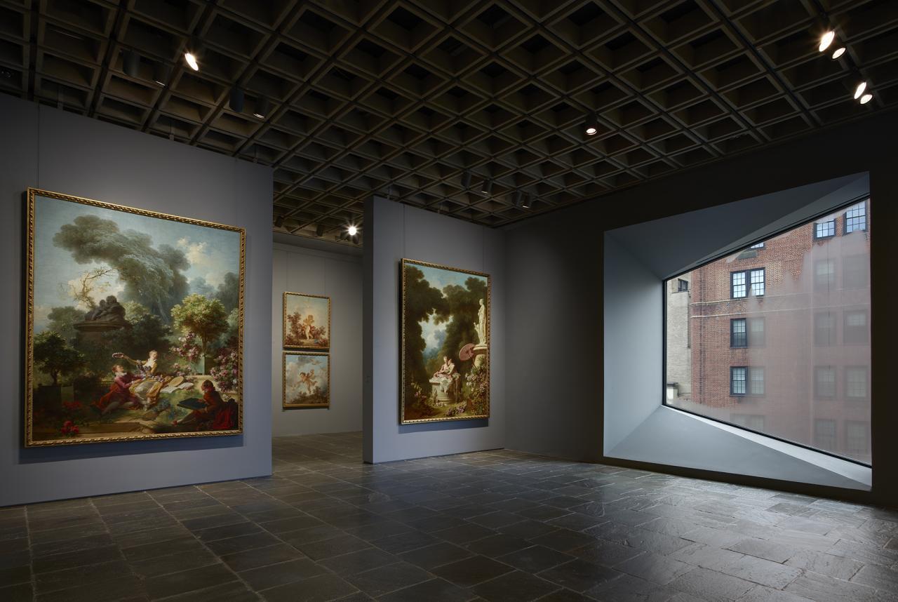 Jean-Honoré Fragonard, The Progress of Love , 1771–91, at the Frick Madison