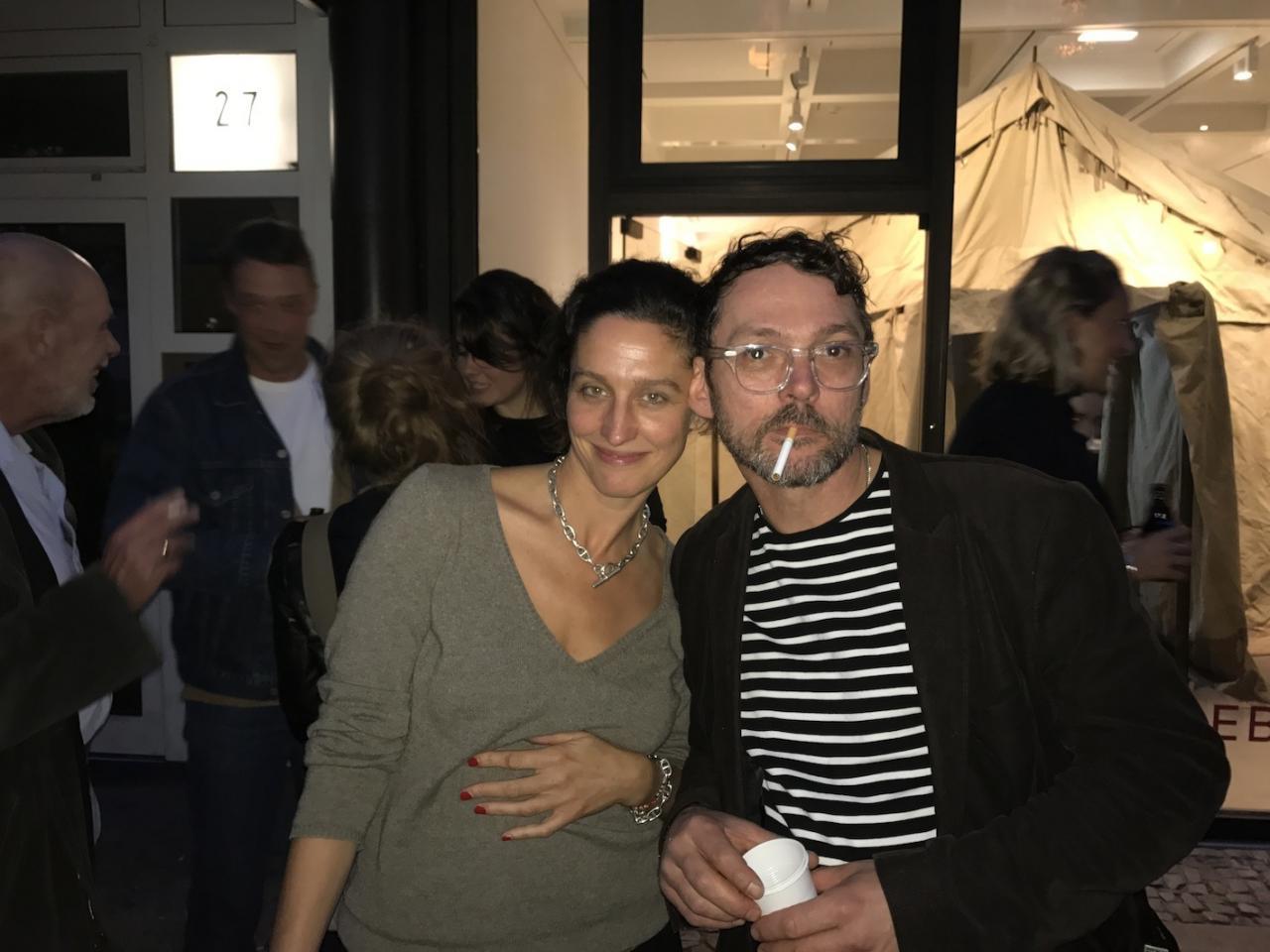 Links: Anna Ballestrem, rechts: Thomas Zipp