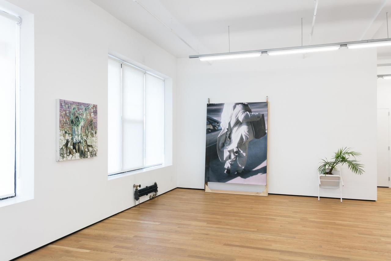 Installation at Foxy Production hosting Christian Andersen Photo: Charles Benton