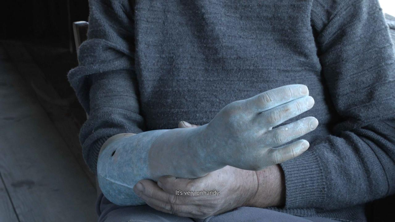 Giorgi Gago Gagoshidze, The Invisible Hand of My Father , 2019,film still, courtesy the artist