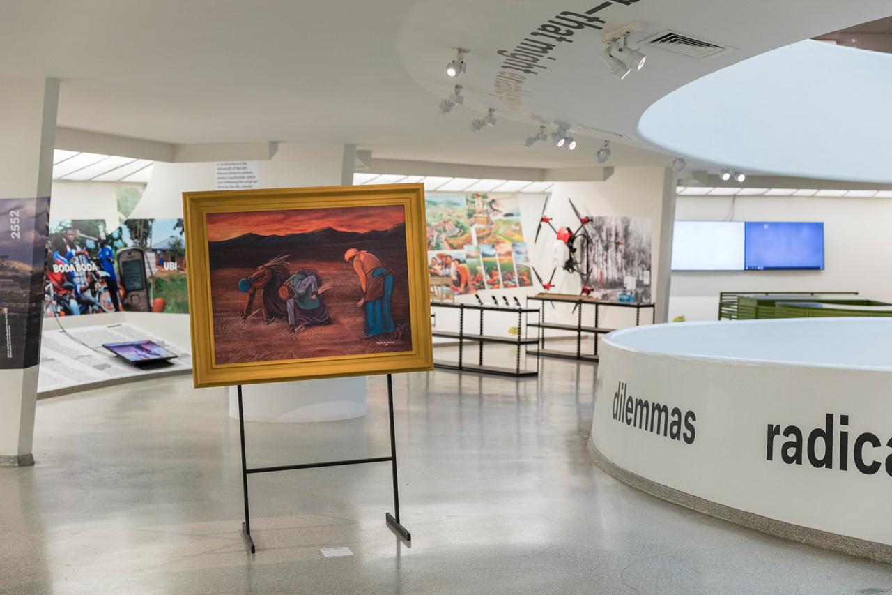 "Rem Koolhaas and Samir Bantal, ""Countryside,the Future"",Guggenheim Museum, New York"