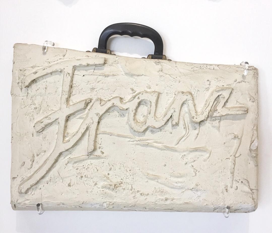Franz West Tragbild Franz (1970)