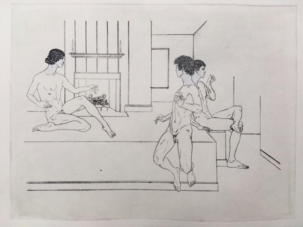 Hardy Hill Ephebes in Terraced Room (2019)