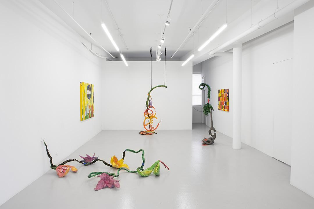 Installation view at Company Company hosting Carlos/Ishikawa, London