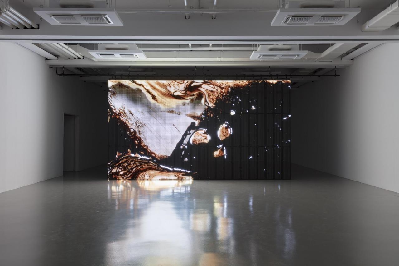"""©Fredricianum, Installation View, """"Rachel Rose"""", 2019. Photo: Andrea Rossetti"""