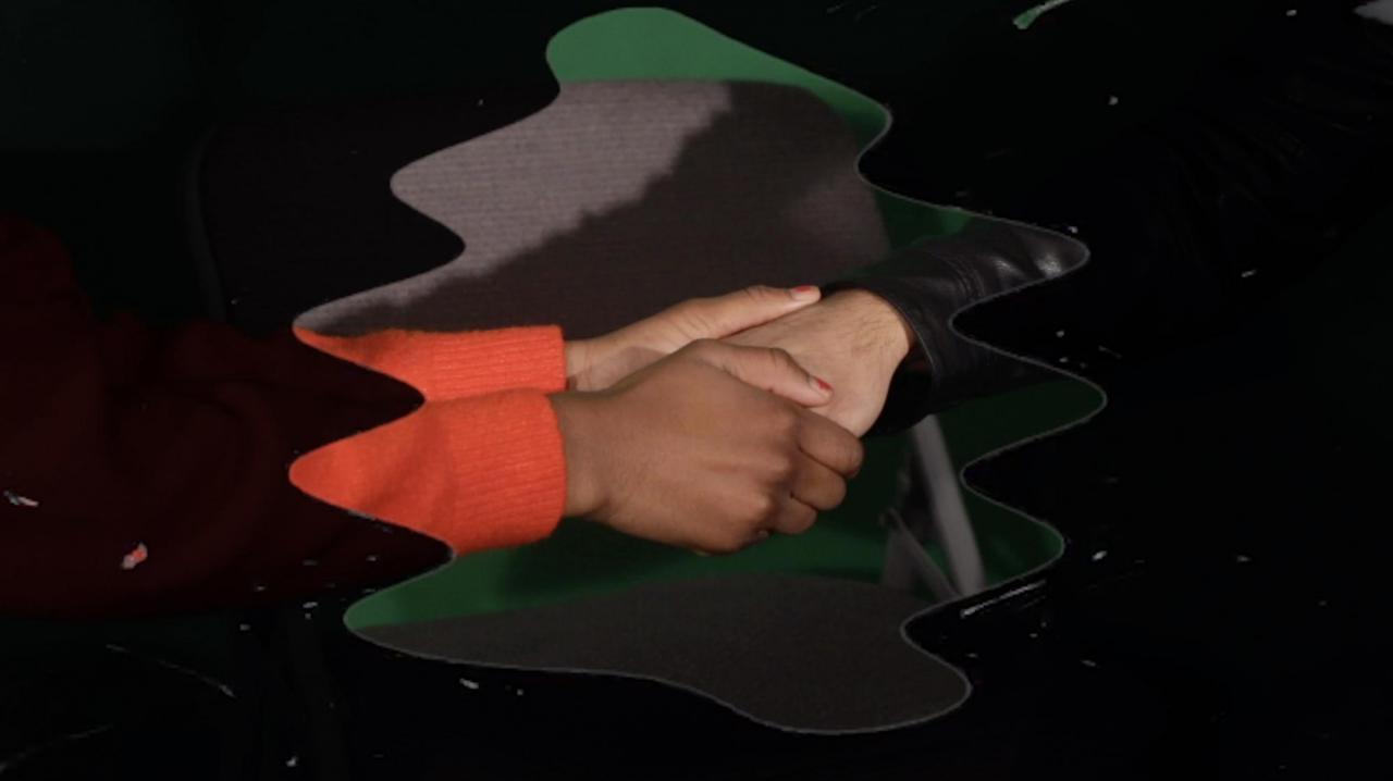 Jibade-KhalilHuffman, The Circle , 2020, video, colour, sound, 24 min. 37 sec.;Courtesy of the Artist, Magenta Plains, New York, NY and Anat Ebgi, Los Angeles, CA