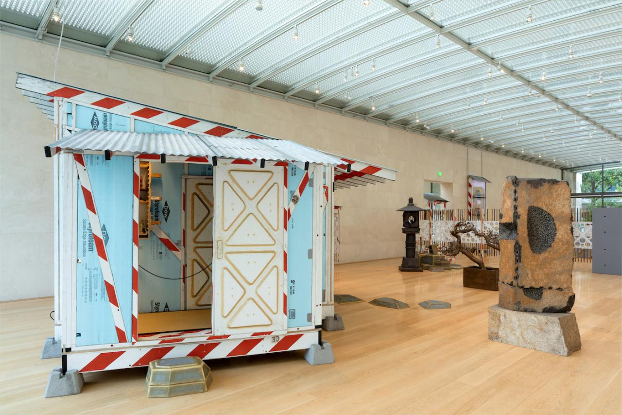 "Tom Sachs ""Tea Ceremony"" (2017), installation view at Nasher Sculpture Center Photo: Kevin Todora"