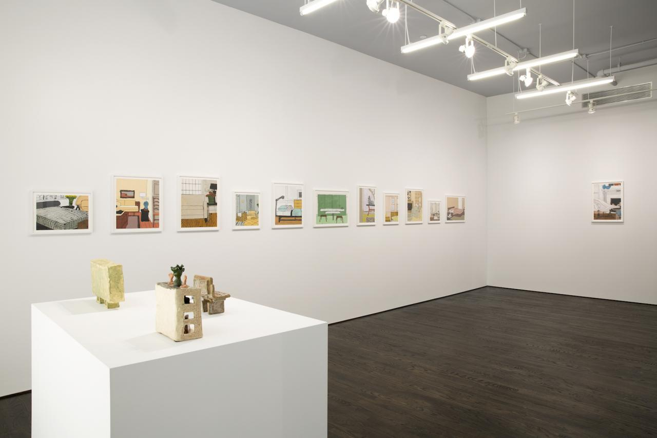 Michael LeVell Installation view at White Columns Courtesyof theartist;FirstStreetGalle ry, Claremont CA; and White Columns, New York; Photo: Marc Tatti White ColumnshostingFirst Street Gallery,LosAngeles