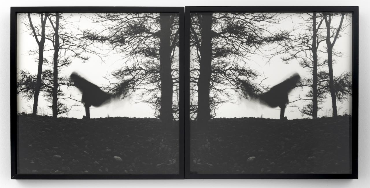 Mary Beth Edelson The Nature of Balancing (1979) Courtesy of the artist and David Lewis, New York