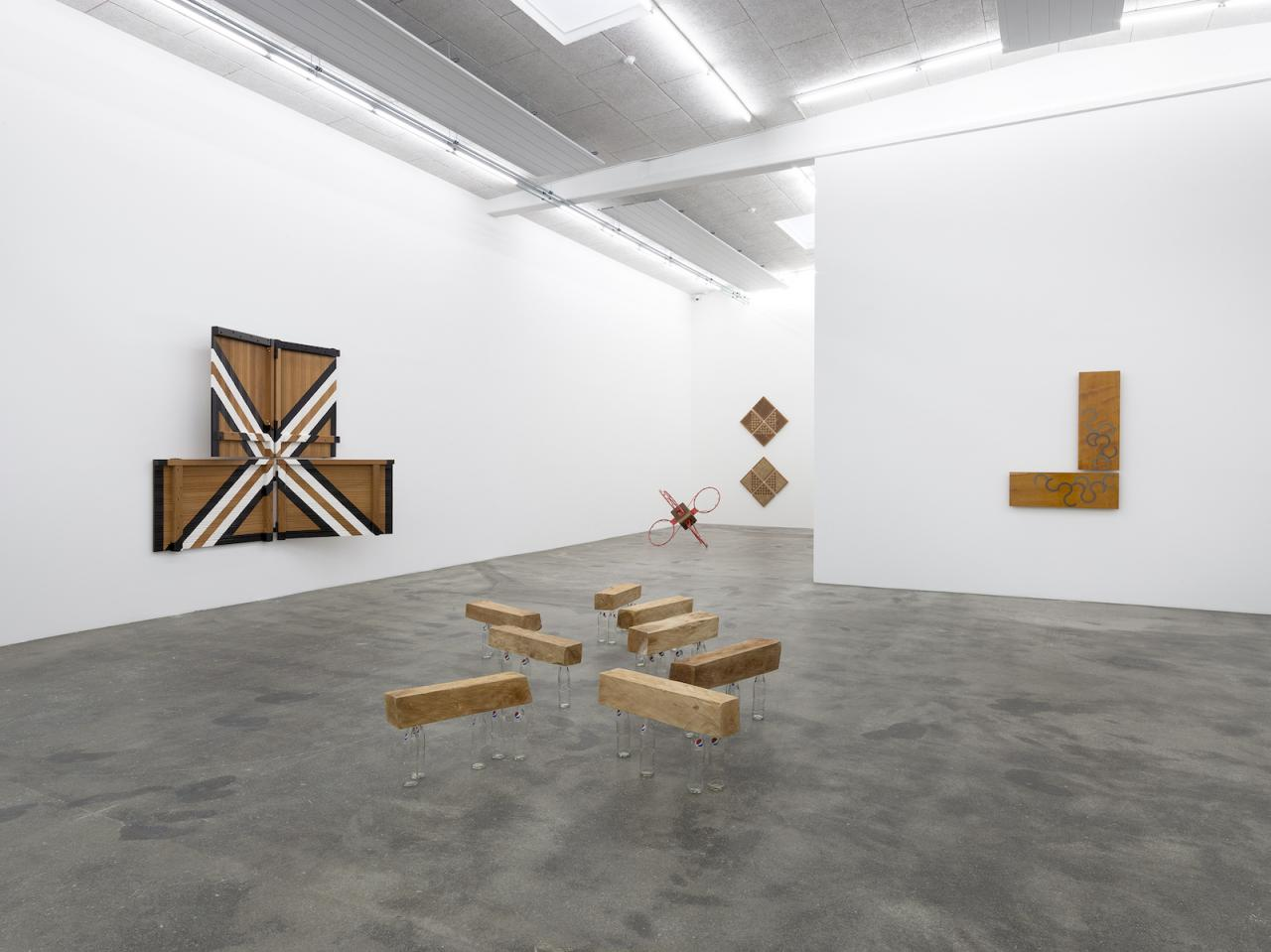 "Darío Escobar ""Uncertainty Principle"" (2018), Installation view at Galleri Nils Stærk"