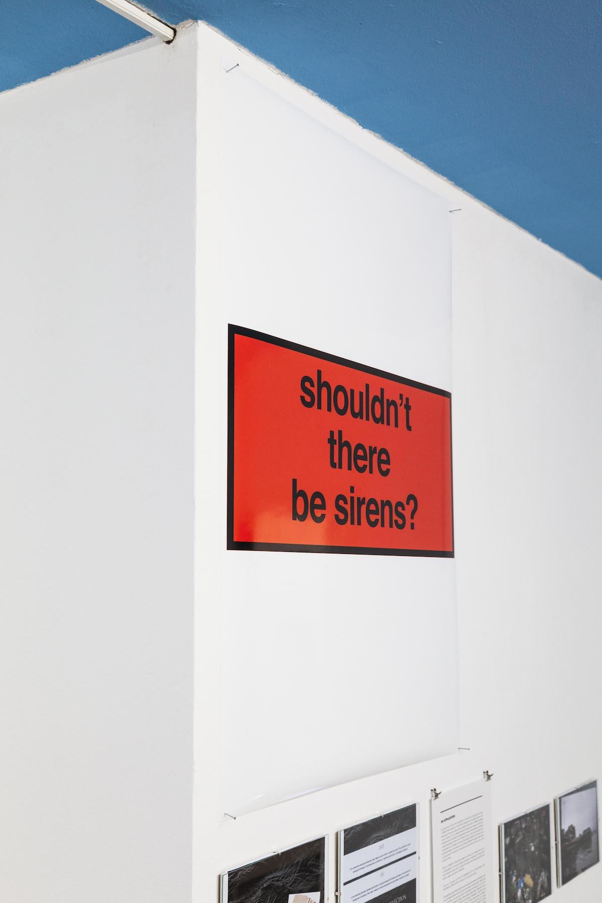 Nora Turato shouldn't there be sirens?, 2018,Inkjet Print, 84,1 x 118,9 cm, unique