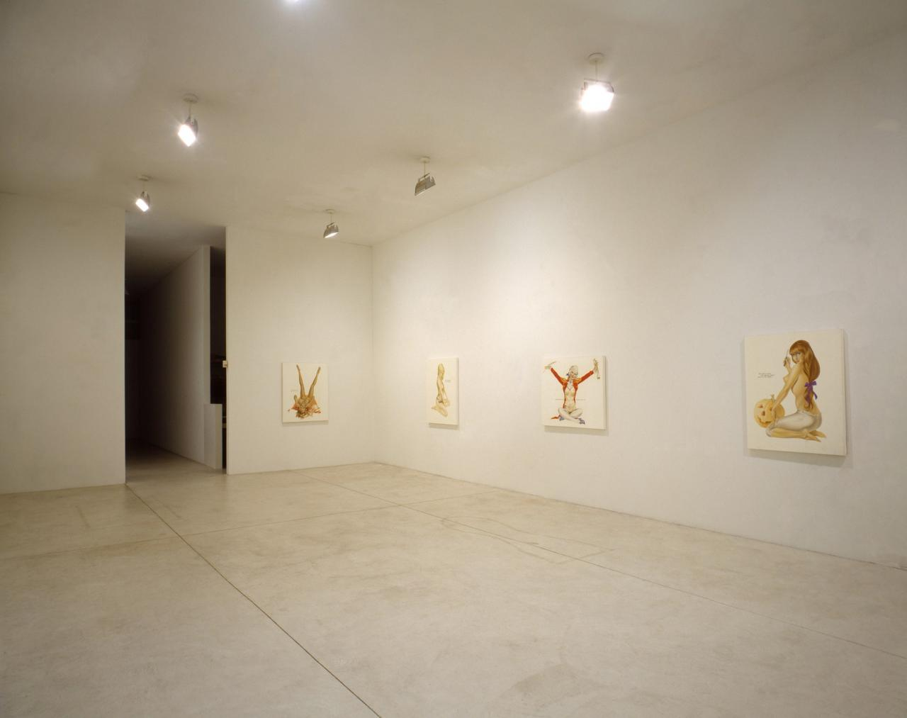 Installation view Playboys Pat Hearn Gallery, New York 1993 Photo: Tom Warren