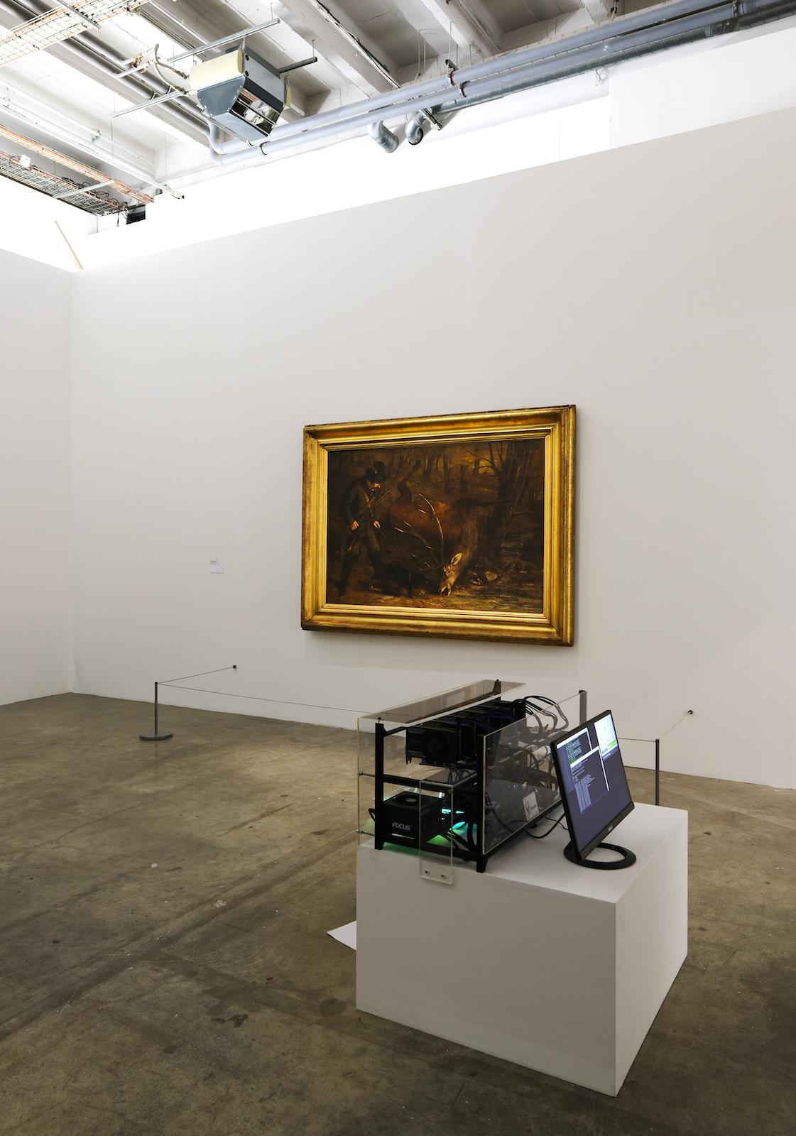 "Neïl Beloufa ""The enemy of my enemy"" Exhibition view atPalais de Tokyo (2018). Courtesy of the artist and Balice Hertling Gallery (Paris) Photo: Aurélien Mole © ADAGP, Paris 2018"