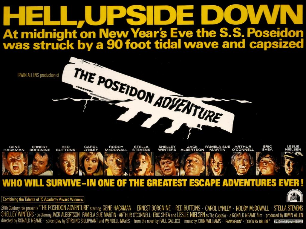 The Poseidon Adventure , 1972, 20th Century Fox Theatrical Poster, Mort Künstler