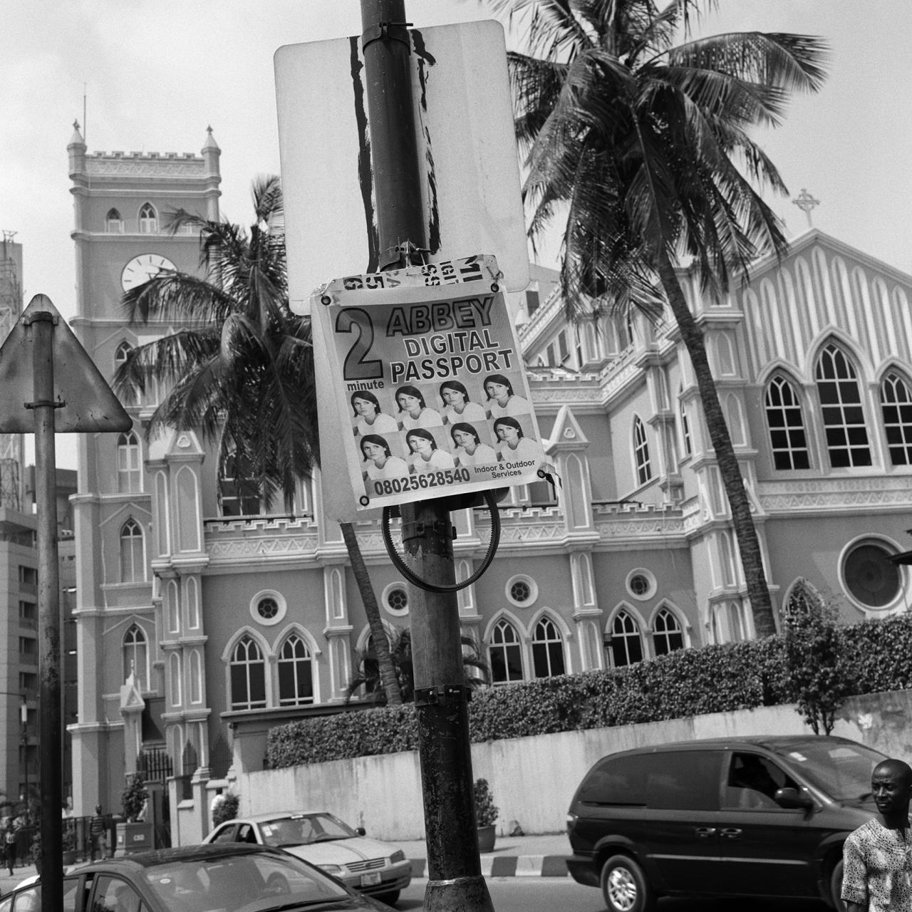 "Akinbode Akinbiyi, Lagos Island from the series ""Lagos: All Roads"" (2016)."