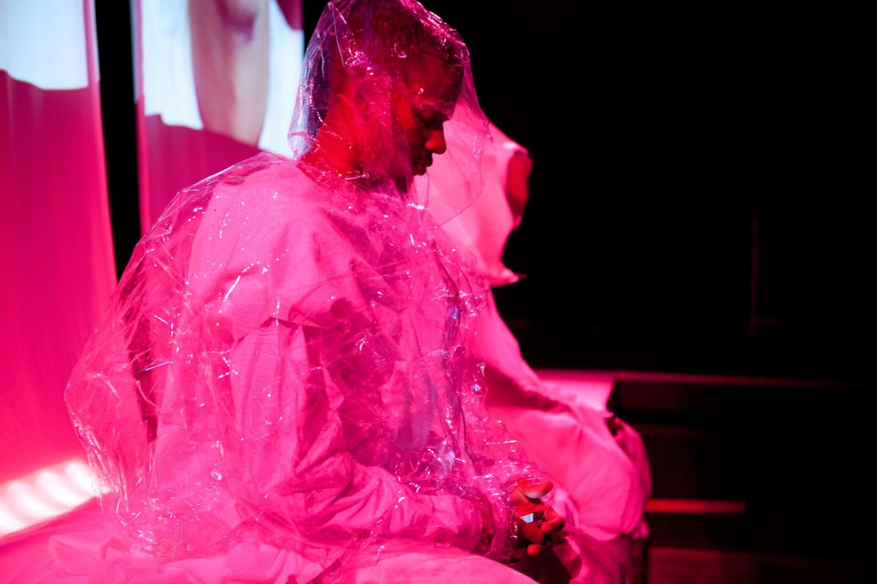 Sandra Mujinga, I Can Delete It, It Is Not Happening Now , 2014. Performance for Soft City , produced by Kunsthall Oslo