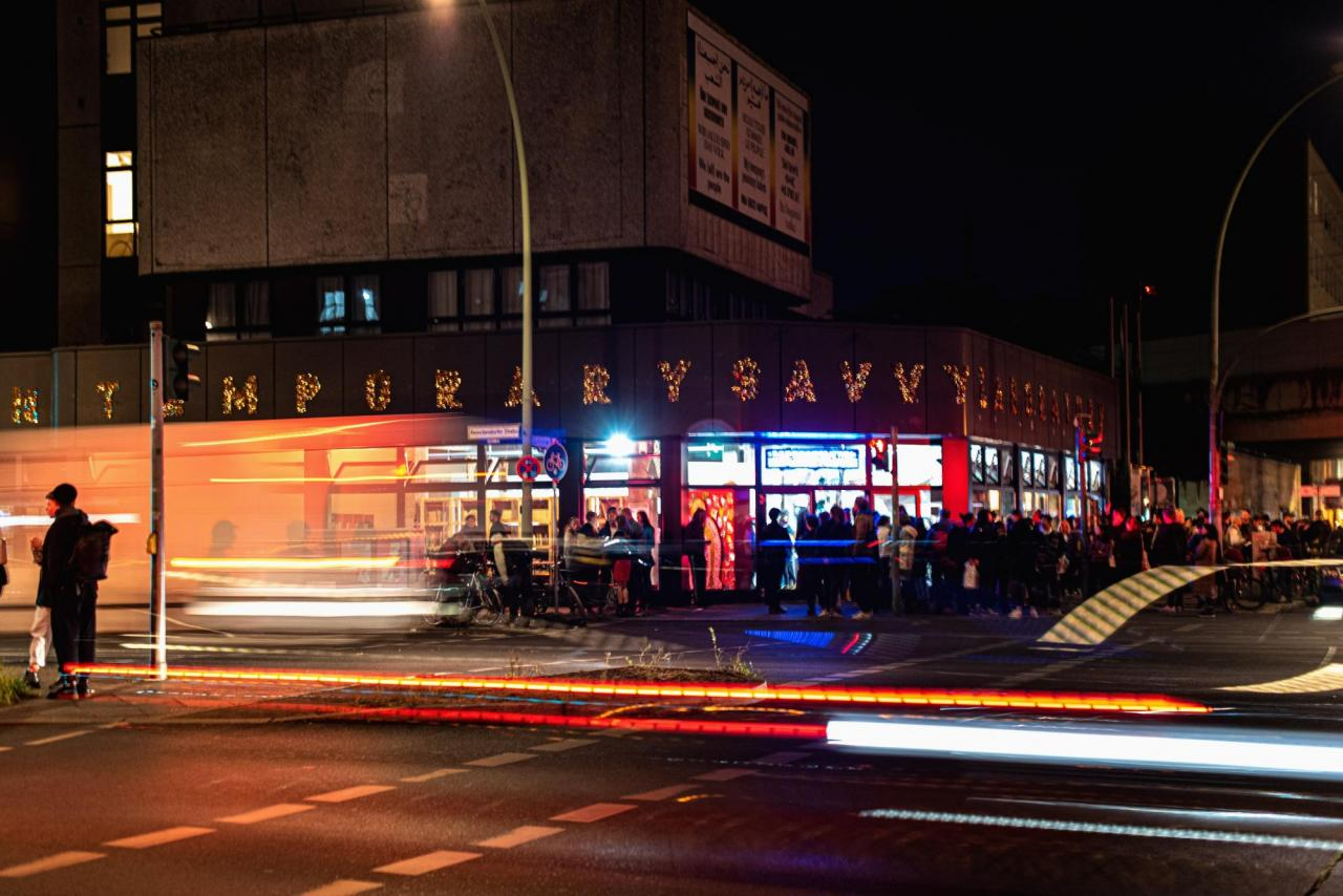 Opening of Savvy Contemporary, Berlin, September 25, 2020.