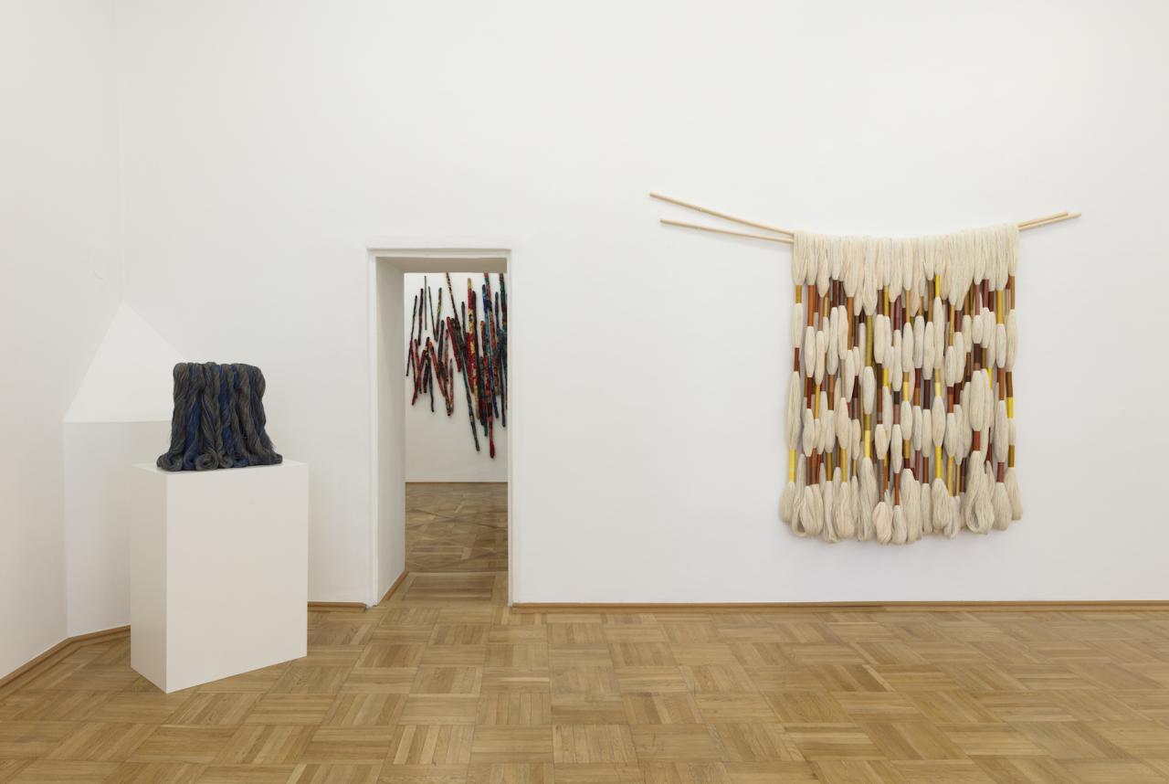 "Installation view of ""Panta Rhei"" curated by_Julia Garimorthat Galerie nächst St. Stephan Rosemarie Schwarzwälder Courtesy the gallery"