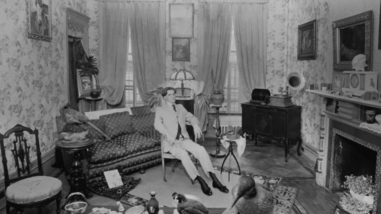 David McDermott in his Avenue C apartment by Josef Astor