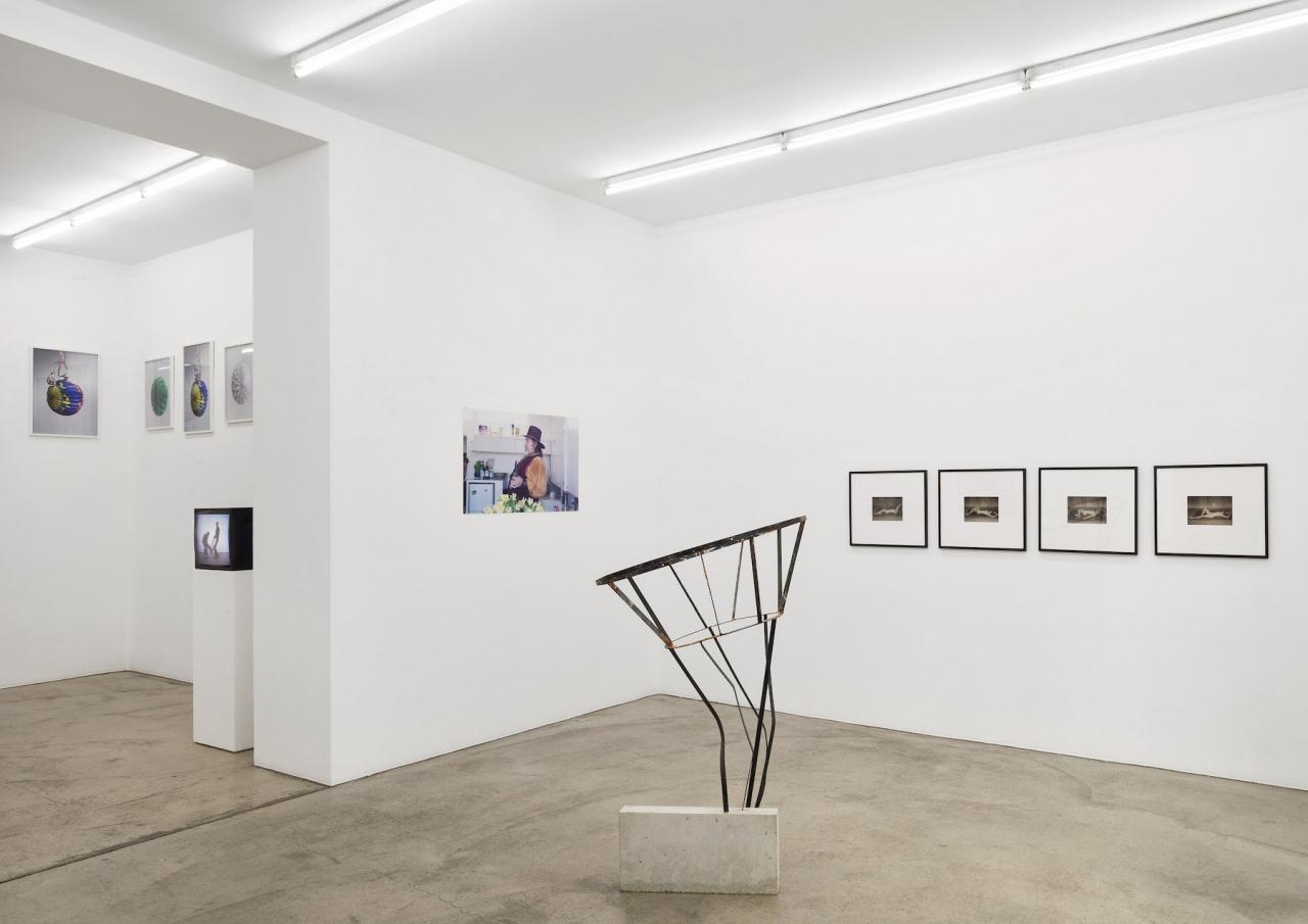 "Installation view of ""Performance – Körper als Kontinuum in der Kunst"" curated by Georg Elben at Gabriele Senn Galerie Courtesy Gabriele Senn Galerie; Photo: Iris Ranzinger"