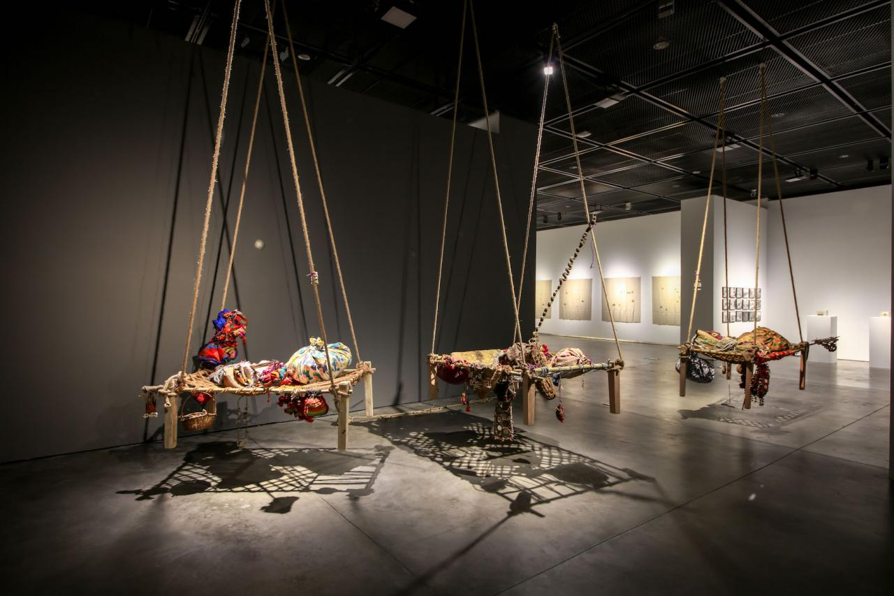 Shiva Gor Lines Clues (2018) © Photo: Courtesythe Yinchuan Biennale