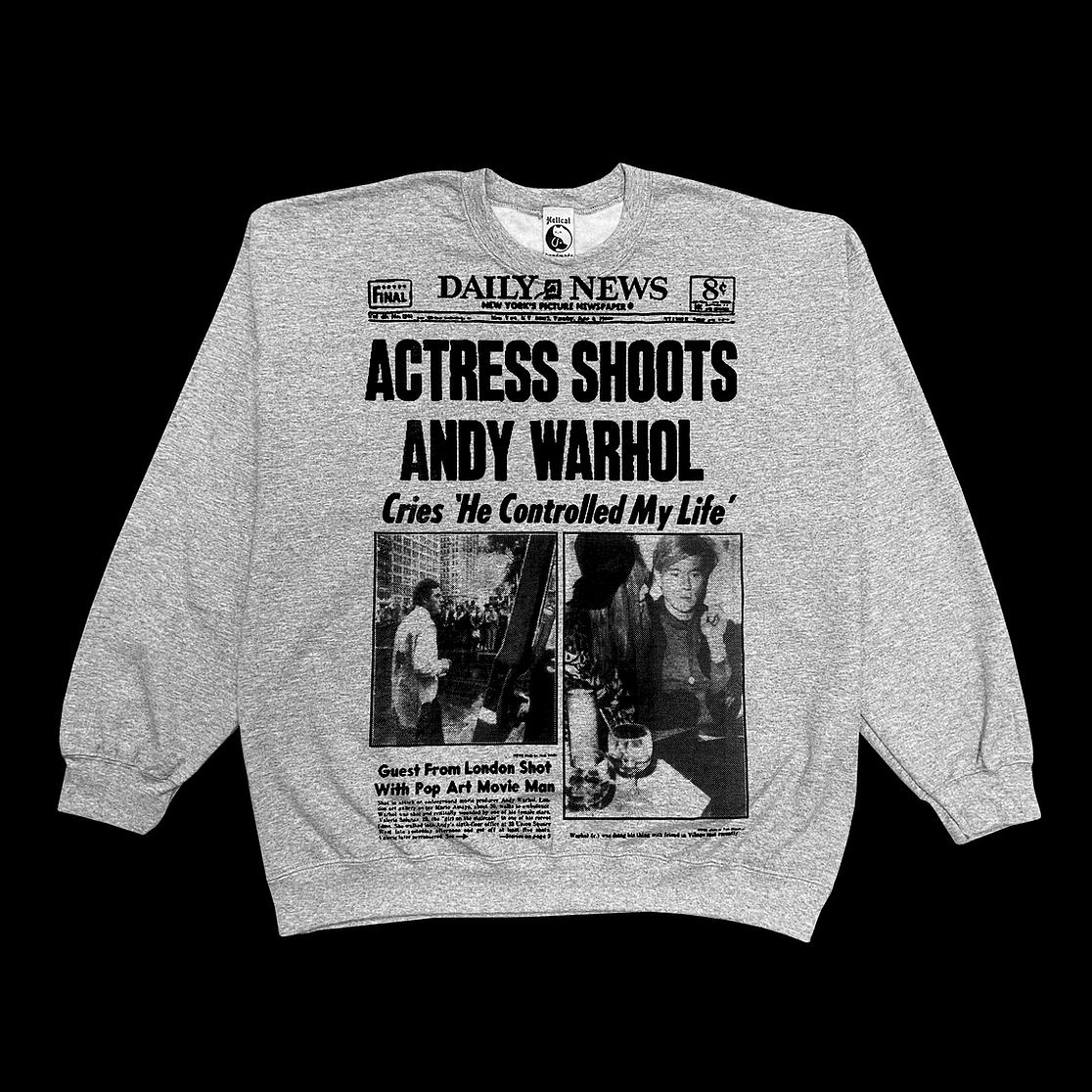 Valerie Solanas Sweatshirt byHellcat Studios