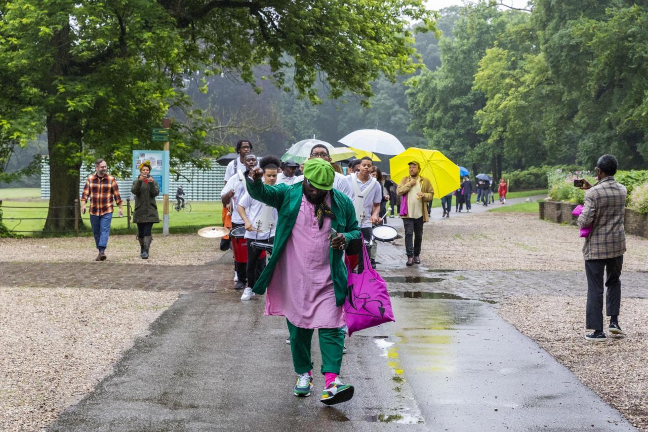 Keti Koti parade at Sonsbeek 2021. © Django van Ardenne