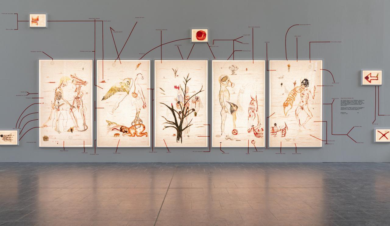 Mithu Sen, UnMYthU: Unquantize (2018-2024). © Django van Ardenne