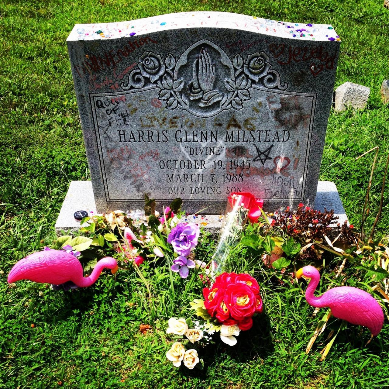 """Grave of""""Divine"""", Baltimore, MD."""