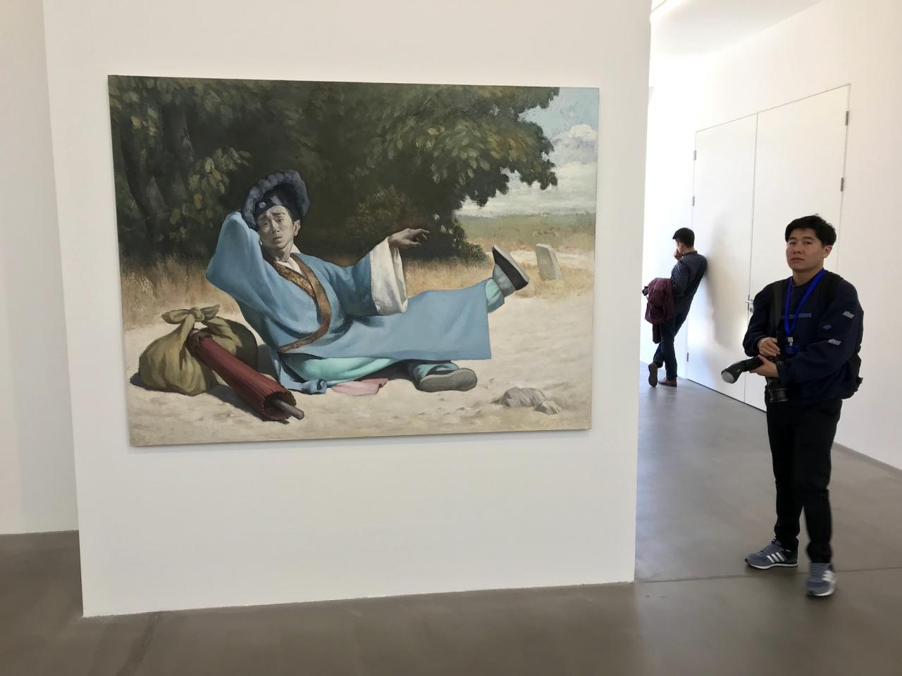 Wang Xingwei Unfaithful Lover (2017) Galerie Urs Meile
