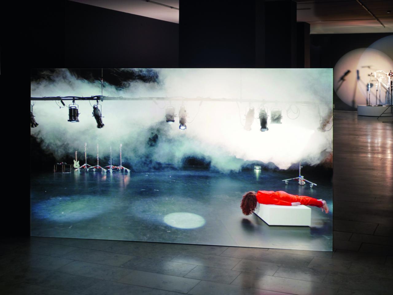 Pauline Boudry / Renate Lorenz, Telepathic Improvisation , 2017 Single-channel HD video installation, 20 minutes