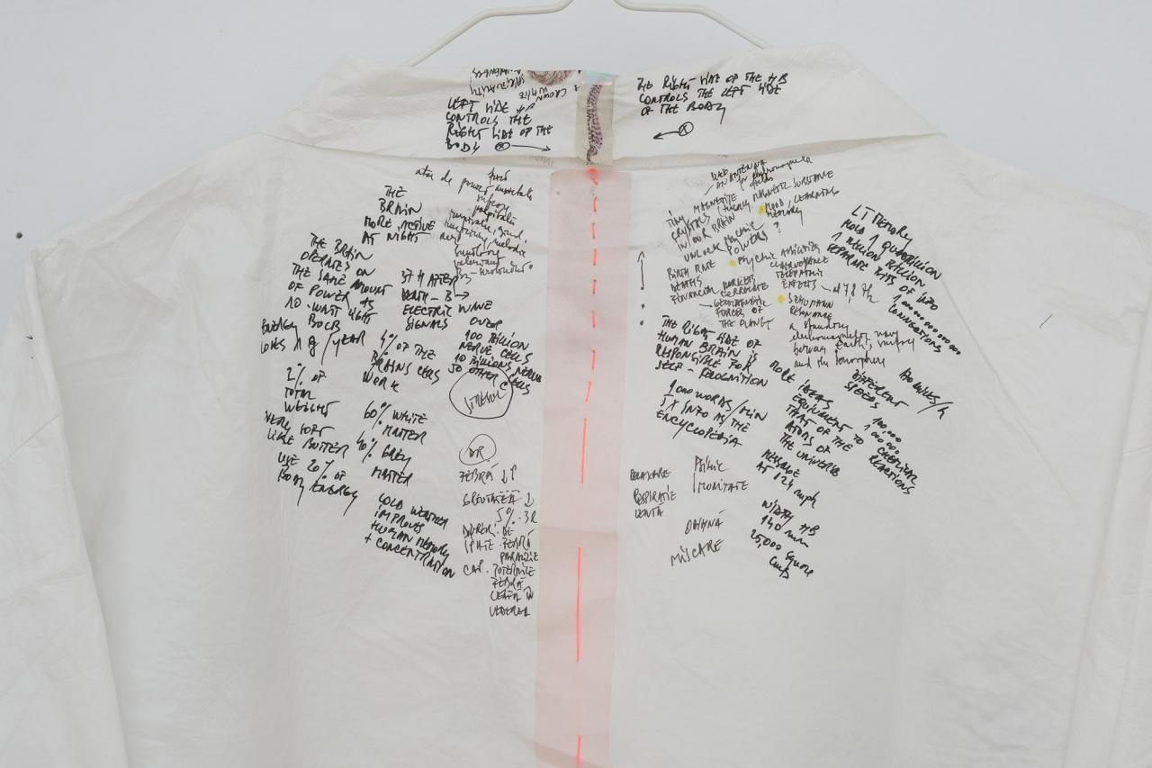 "Lia Perjovschi, ""Costume"" , 2019/20"