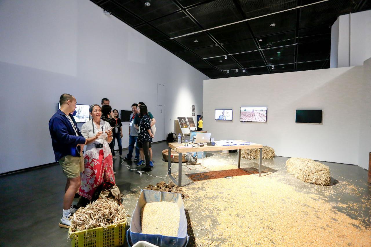 Xu Tan Social Botany. 12 days (2018) © Photo: Courtesythe Yinchuan Biennale