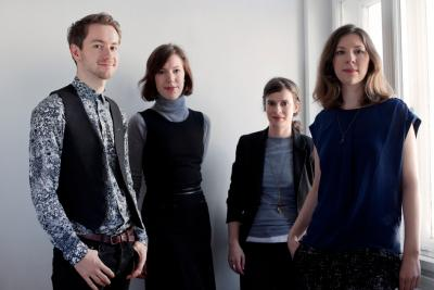 From left to right: Gilles Neiens, Lauren Reid, Marie Graftieaux, Nora Mayr